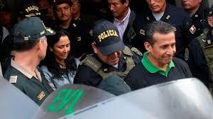 Resultado de imagen para fotos del encarcelamiento de ollanta humala
