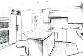 interior design sketches kitchen. Kitchen Design Sketch Sketchup Tutorial Interior Of Modern With Best Ideas Sketches