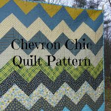 PDF quilt pattern Chevron Chic three design variations in & 🔎zoom Adamdwight.com