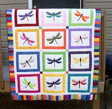 34 best dragonfly quilt images on Pinterest | Landscape paintings ... & dragonfly quilt by mellsbells3, via Flickr Adamdwight.com