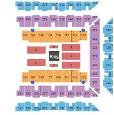Shogun Fights Tickets Section 105 Row A 11 2 2019