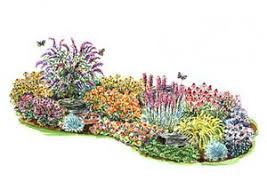 Small Picture Layout idea for the berm in the front yard Butterfly Gardens