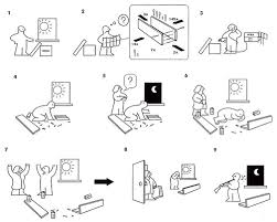 1000 images about ikea instructions on pinterest ikea manual and making meatballs assembling ikea chair
