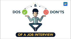 The Do S And Don Ts Of An Interview Scoopwhoop Dos And Donts Of A Job Interview