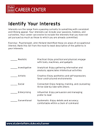 What Are Interests Identify Your Interests