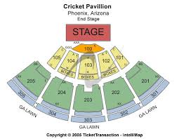 Desert Sky Pavilion Interactive Seating Chart 33 Detailed Cricket Seating Chart