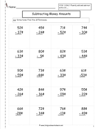 Three Digit Subtraction Worksheets 2 3 Addition Without Regrouping ...