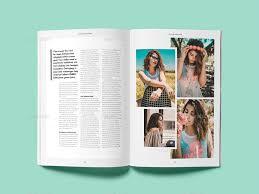 Indesign Magazine Templates Cofune Magazine 40 Pages Indesign Template