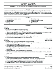 Sample Bartending Resume Sample Resume Resume Examples Resume Sample
