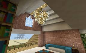 Minecraft Chandelier Design Minecraft Chandelier Lighting And Balcony