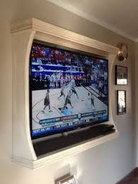 this is the related images of Framed Tv On Wall