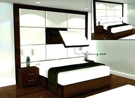 flat screen tv on wall bedroom luxurious bedrooms complete with televisions