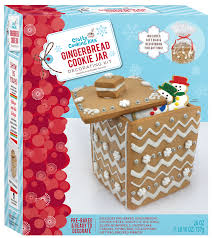How To Decorate A Cookie Jar Gingerbread Cookie Jar Kit Crafty Cooking Kits 66