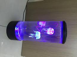 Großhandel Qualle Lampe Große Sich Hin Und Herbewegende Qualle Aquarium Helle Farbe Führte Hauptquallen Aquarium Dekorationen Von Malight 6432161