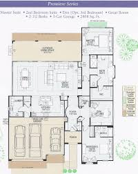 Master Bedroom Suites Floor Plans The Master Wing Of This House Is Laid Out To Provide His And Her
