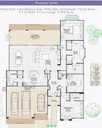 Master Bedroom Suite Floor Plans Ranch Floor Plansplit Bdrm 2 Into Two Bedrooms With Access To