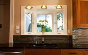 sink lighting. Kitchen Best Sink Lighting Ideas Window Over Decorating Also Comfortable Dining Table Themes G