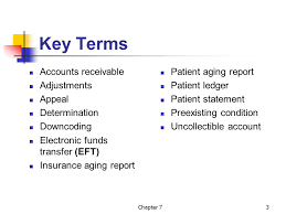 Account Receivable Aging Report Reimbursement Follow Up And Collections Chapter Ppt Download