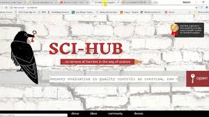 Sci Hub New Link For Downloading Free Research Papers 2018 September