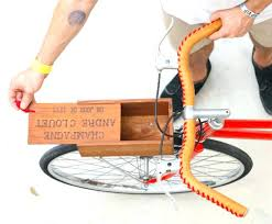 wood bike stands stand me wooden box bicycle plans