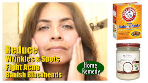 how to reduce wrinkles clean pores fight acne baking soda coconut oil beauty and life