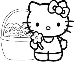 My point that first and foremost, coloring in is a fun. Free Printable Hello Kitty Coloring Pages Coloring Home