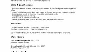 Objective On Resume For Cna resume gorgeous satisfying cna sample resume famous sample sample 95