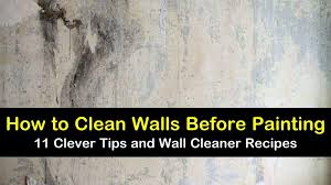 how to clean walls before painting 11
