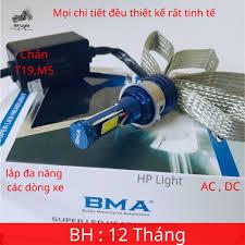 Đèn Pha Led BMA 2 Tim Led Lắp Ô TÔ – XE MÁY , Chân H4,M5,T19 Siêu Sáng (Giá  1 Bóng) giá cạnh tranh