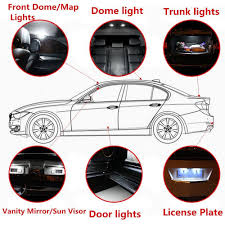Vw Touareg Light Bulb Replacement Us 21 02 9 Off Interior Led Light For Volkswagen 2016sharan Beetle Passatb6 7 Touran Touareg Car Replacement Bulbs Dome Map Lamp White 15pcs In Car