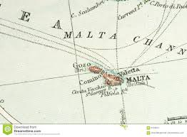 Antique Map Stock Image Image Of Nautical Chart Location