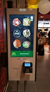 Vending Machine Restaurant Nyc Extraordinary McDonalds Has Started Putting Up Automated Order Kiosks 48th 48rd
