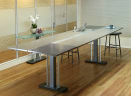 office tables on wheels. Contemporary Office Tangent Stand Up Conference Table To Office Tables On Wheels N