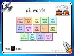 Compound words worksheets grade 1. Ai Worksheets And Games Galactic Phonics