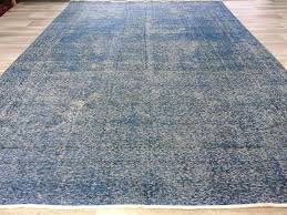 overdyed persian rugs denim blue color handmade vintage rug size x direct australia overdyed persian rugs