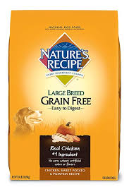 nature s recipe large breed grain free dry dog food en sweet potato pumpkin
