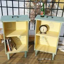 furniture upcycle ideas. turn drawers into side tables with shelvesawesome upcycle ideas furniture r