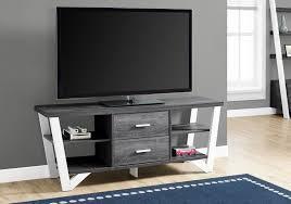white home office furniture 2763. TV STAND \u2013 60\u2033L / GREY-WHITE WITH 2 STORAGE DRAWERS SKU I 2763 White Home Office Furniture
