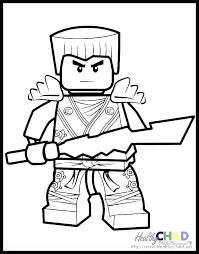 Lego Ninjago Coloring Pages Cole Dream Page Colouring Jay Intended