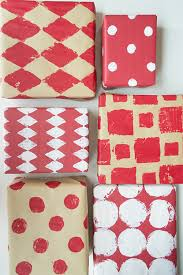 stamped wrapping paper 10