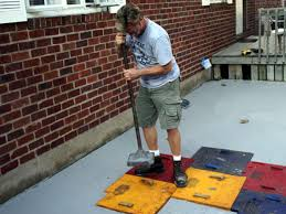 Stamped Concrete Kitchen Floor Enhance An Existing Patio With Concrete Stamping Hgtv