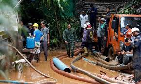 Resultado de imagem para crianças são resgatadas de caverna