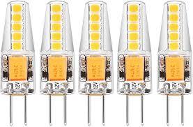 Matmo <b>LED</b> Bulbs <b>G4</b>, 2W, <b>10-LED 2835SMD</b>, 210 Lumens, 12V AC ...