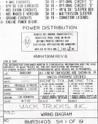 wiring diagram chassis series cxn chn 2004 2005 Mack Electrical Diagrams mack wiring diagram chassis series cxn chn 2004 2005 antique mack truck electrical diagrams