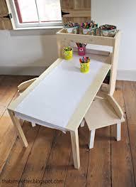 kids desk and chair plans ana white build art center free easy diy