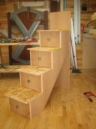 bunk bed with stairs plans. How To Build A Loft Bed With Stairs Img 3283 Bunk Plans S