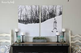 split photo engineer print wall art via housebyhoff  on home wall art pictures with split photo wall art house by hoff