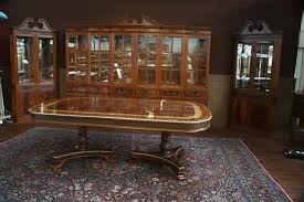 Large Mahogany China Cabinet Large Breakfront Extra Large - Dining room table and china cabinet
