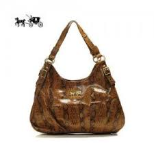 Quick View · Coach Embossed Medium Brown Hobo Outlet Sale VIP Shop ...