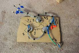 guitar kit builder les paul florentine vintage 50s wiring harness as far as the circuit was concerned i used the so called 50 s vintage wiring scheme the addition of the independent volume mod